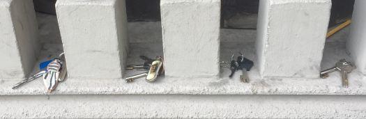 Cuatro llaves
